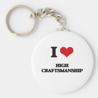 I love High Craftsmanship Keychains