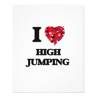 I love High Jumping 11.5 Cm X 14 Cm Flyer