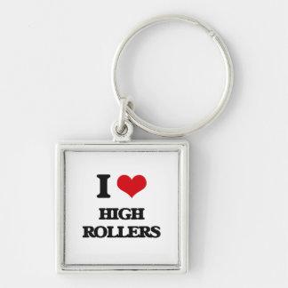 I love High Rollers Keychain