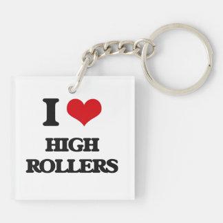 I love High Rollers Acrylic Keychain
