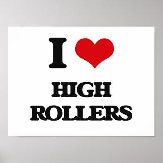 I love High Rollers Print