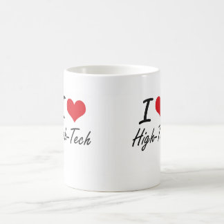 I love High-Tech Basic White Mug
