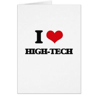 I love High-Tech Greeting Card