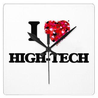 I Love High-Tech Clocks