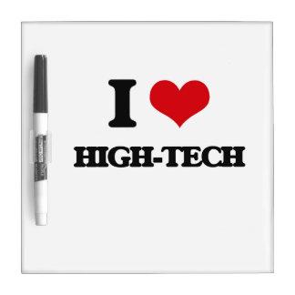 I love High-Tech Dry Erase Whiteboard