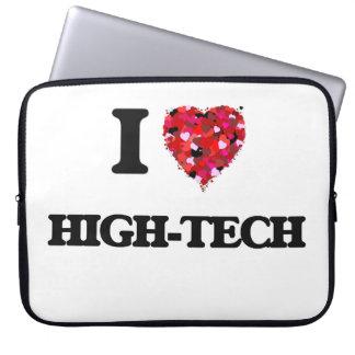 I Love High-Tech Laptop Sleeves