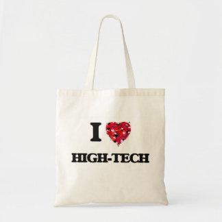 I Love High-Tech Budget Tote Bag