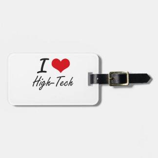 I love High-Tech Travel Bag Tags