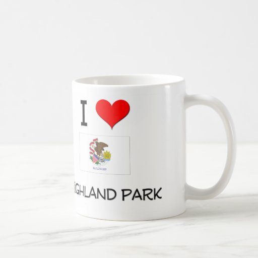 I Love HIGHLAND PARK Illinois Mug