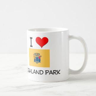 I Love Highland Park New Jersey Basic White Mug