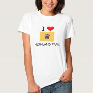 I Love Highland Park New Jersey T Shirts