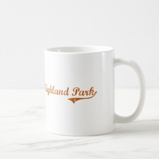 I Love Highland Park Texas Coffee Mugs