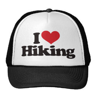 I Love Hiking Cap