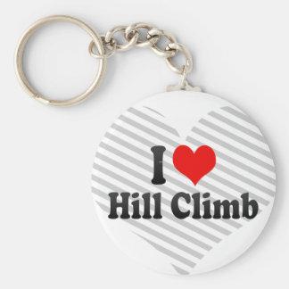 I love Hill Climb Keychain