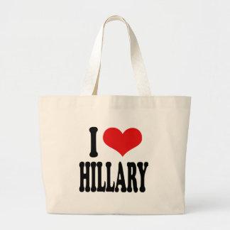 I Love Hillary Bags