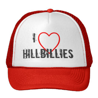 I love hillbillies hats