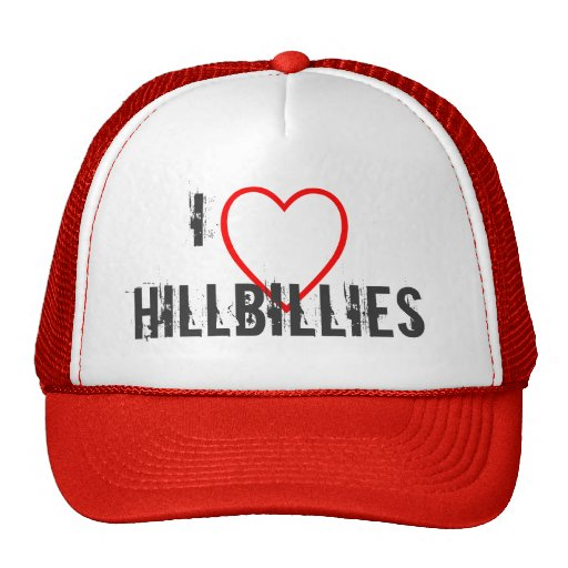 I love hillbillies hats