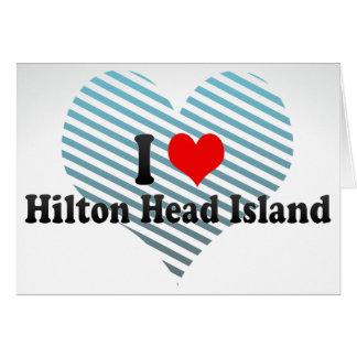 I Love Hilton Head Island, United States Card