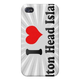 I Love Hilton Head Island United States iPhone 4/4S Covers