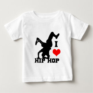 I Love Hip Hop Baby T-Shirt