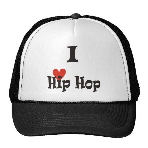 I Love Hip Hop Cap Hats