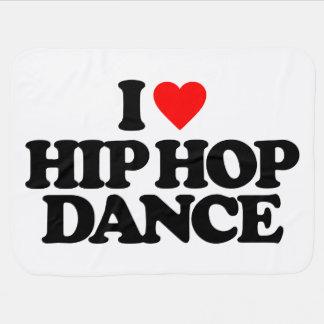 I LOVE HIP HOP DANCE BUGGY BLANKET