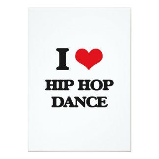 I Love Hip Hop Dance Custom Invites