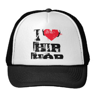 I love hip hop trucker hat