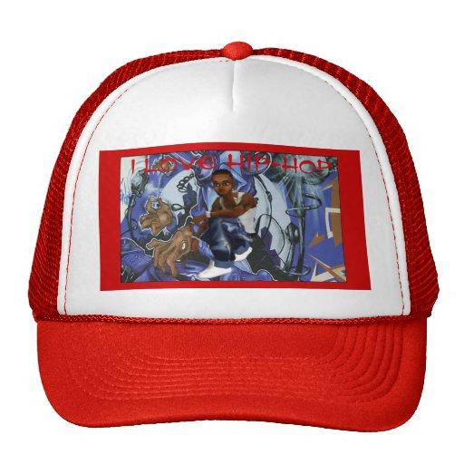 I LOVE HIP-HOP HAT