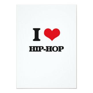 I Love HIP-HOP Personalized Invitation