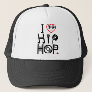 I Love Hip Hop - Music Hat