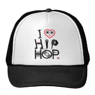 I Love Hip Hop - Music Hat