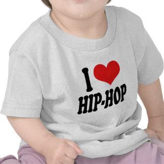 I Love Hip-Hop Tee Shirt