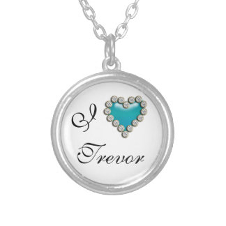 I love his her name personalize custom necklace