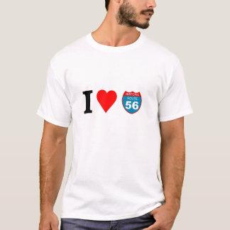 I love Historic Route 56 T-Shirt