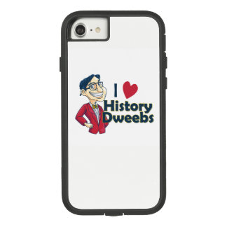 I love History Dweebs iPhone Case