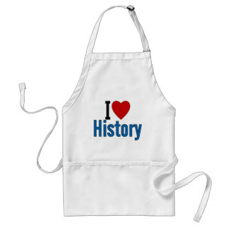 I Love History Standard Apron