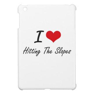I love Hitting The Slopes iPad Mini Cover