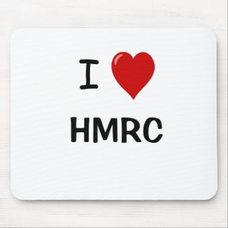 I Love HMRC - I Heart HMRC - For UK Tax Lovers! Mouse Mat