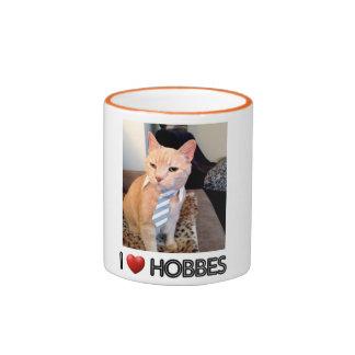 I LOVE HOBBES MUG