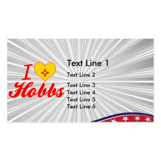 I Love Hobbs, New Mexico Business Cards