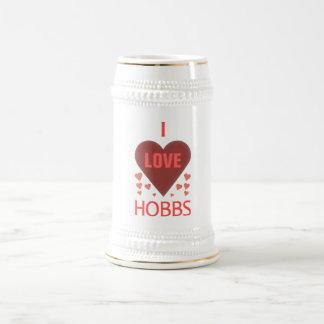 I Love Hobbs NM Coffee Mugs