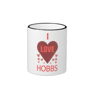 I Love Hobbs NM Ringer Mug