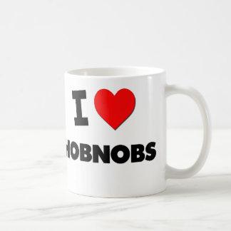I Love Hobnobs Basic White Mug