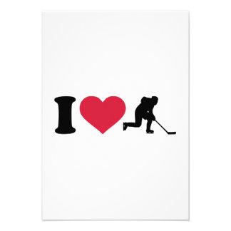 I love hockey player custom announcements
