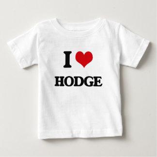 I Love Hodge Tee Shirts