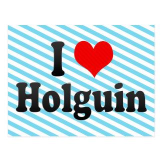 I Love Holguin, Cuba Postcard