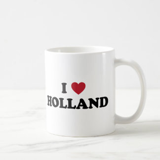 I Love Holland Basic White Mug