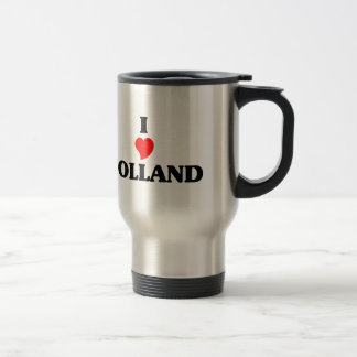 I love Holland Travel Mug