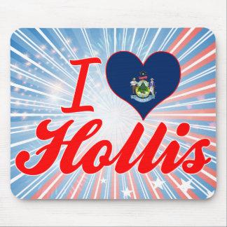 I Love Hollis Maine Mouse Pads
